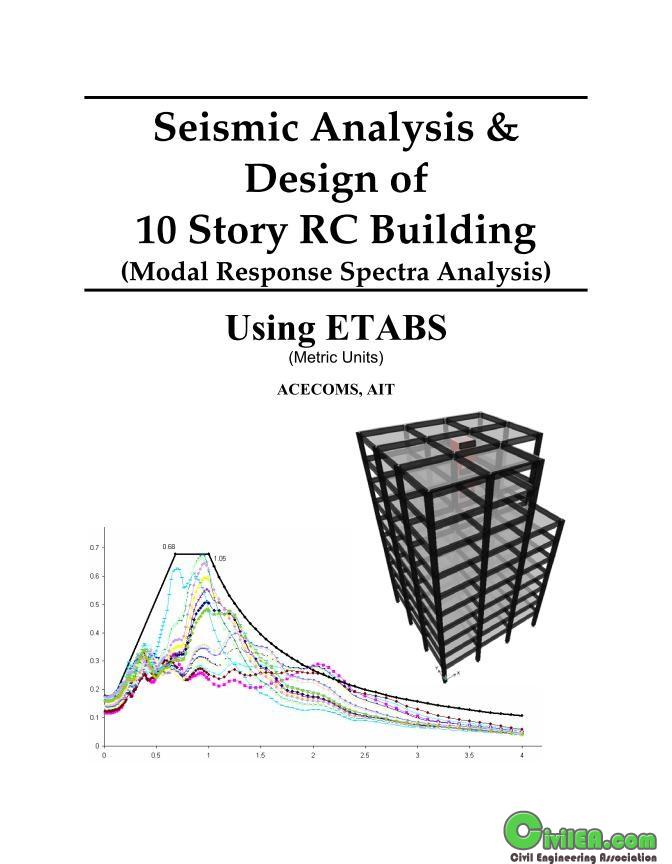 Seismic Analysis & Design of 10 Story RC Building